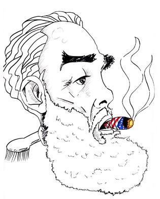 Caricatura - Fidel