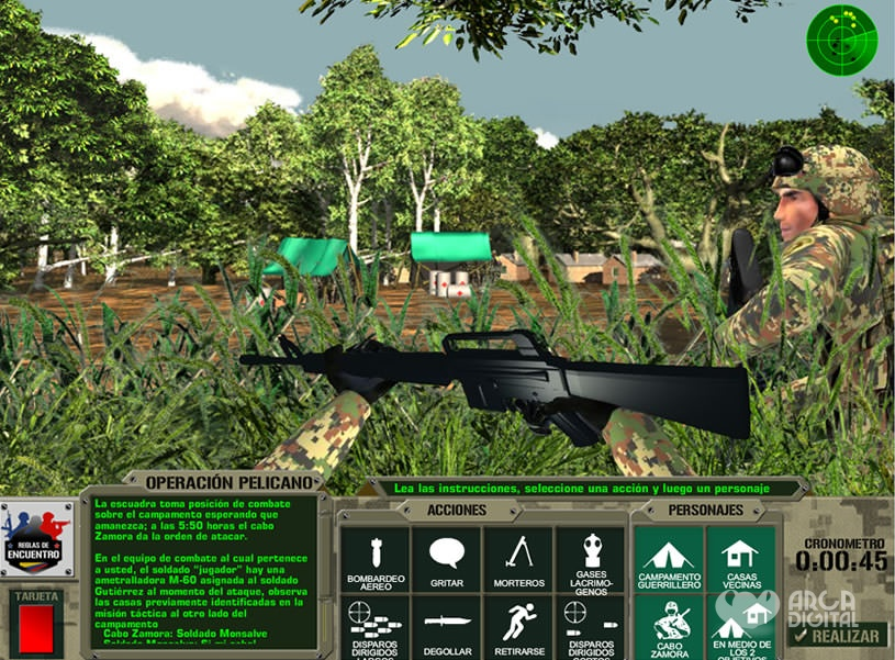 Juego mision ejercito